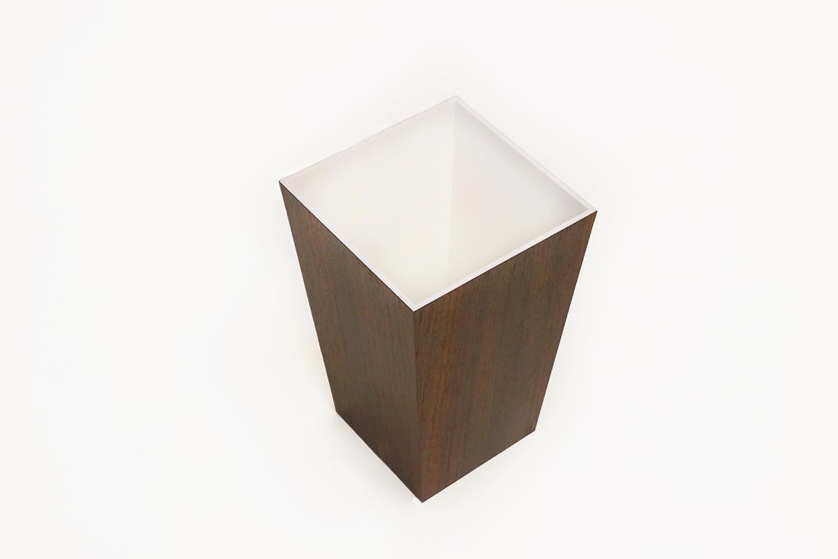 cration poubelle en bois